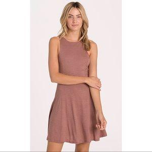 NWOT Peach Billabong Skater Dress